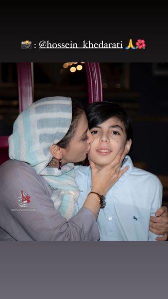 مادرانه های رویا میرعلمی و پسرش + عکس