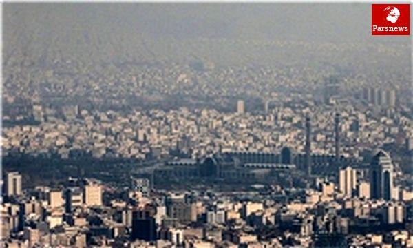 شرایط هوای تهران در وضعیت قرمز