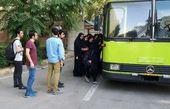 یک اتوبوس دیگر از دانشجویان دچار حادثه شد