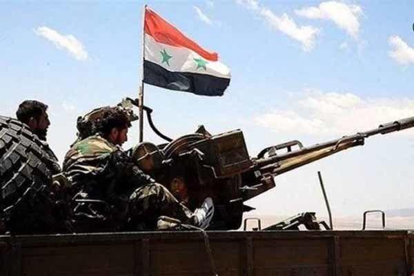 تسلط ارتش سوریه و متحدانش بر روستای «الحمرات» در حمص