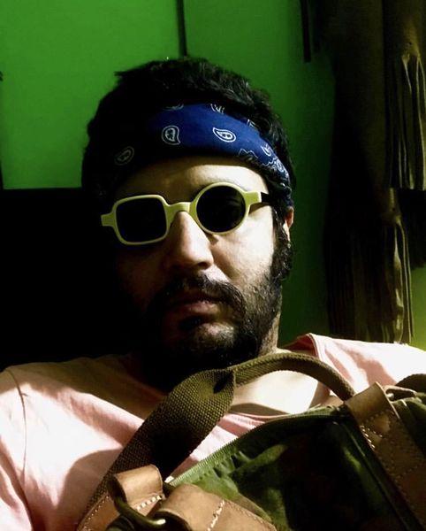عینک عجیب و غریب مهران رنجبر + عکس