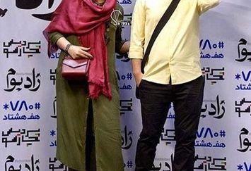 جواد عزتی بانمک همراه با همسر بازیگرش+عکس