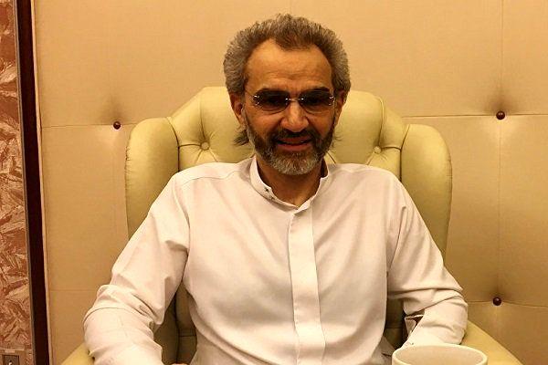 «ولید بن طلال» نمی تواند نظرات خود را آزادانه در عربستان بیان کند