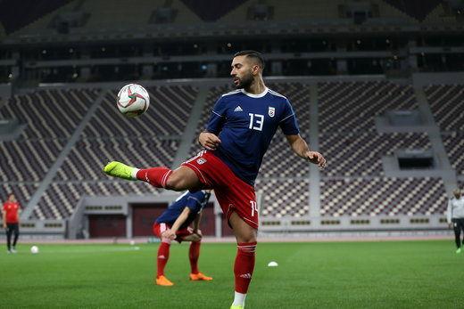 سامان قدوس، در تیم منتخب لژیونرهای جام ملتها/عکس