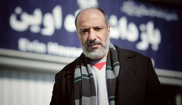 امیر جعفری در بازداشتگاه اوین + عکس