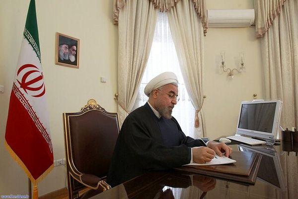 انتقال پیام روحانی به امیر کویت