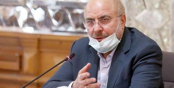 رئیس مجلس: چشم دوختن به دشمن بیگانه اتلاف فرصت پیشرفت است