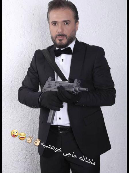 استایل مافیایی سید جواد هاشمی + عکس