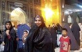 بهنوش بختیاری در مشهد + عکس