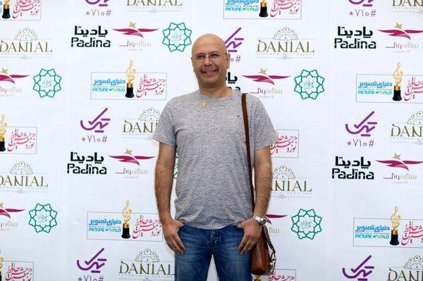 محمد بحرانی در یک مراسم + عکس