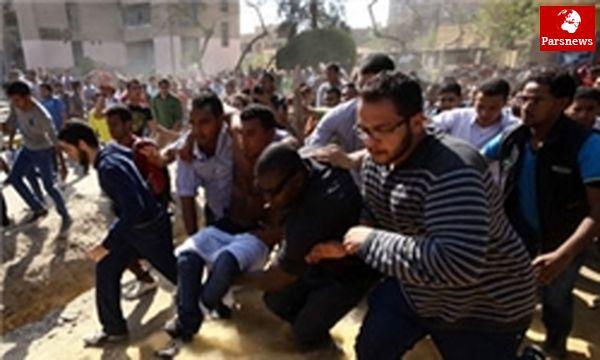 ۲۹ نفر در درگیریهای میدان التحریر زخمی شدند