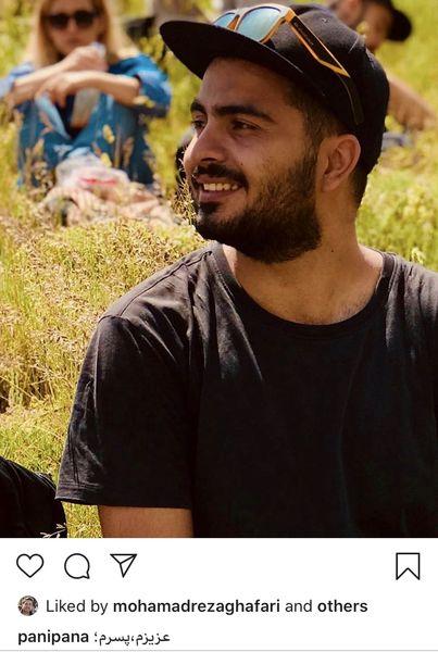 پسر بزرگ پانته آ پناهی ها در خارج از کشور + عکس