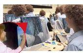 دانشجویان هنر در نقش «باب راس»
