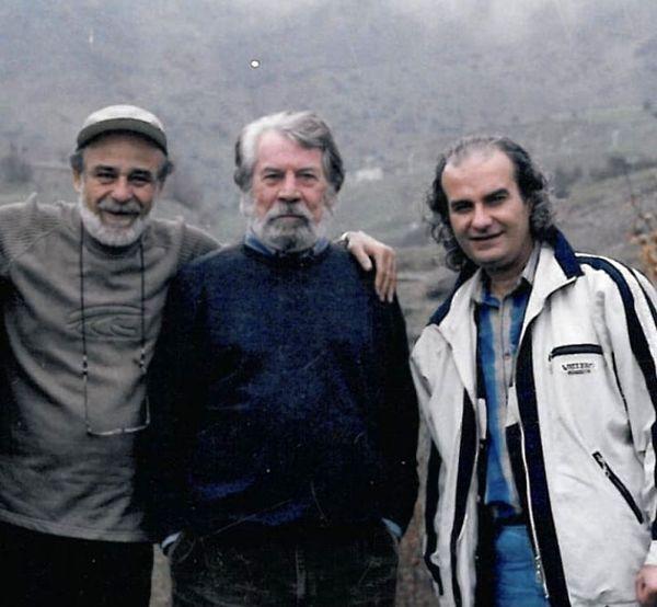 علی عمرانی در کنار مرحوم داوود رشیدی + عکس