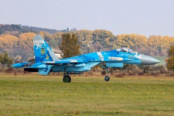 یک جنگنده اوکراینی سقوط کرد