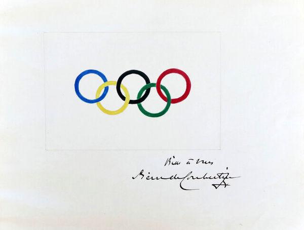 فروش نقاشی اصلی پنج حلقه المپیک به قیمت ۱۸۵ هزار یورو