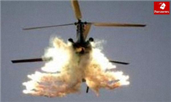 بالگرد نظامیان خارجی در افغانستان سقوط کرد