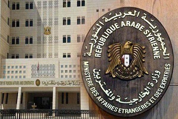 دمشق خواستار واکنش جدی و فوری به جنایات ائتلاف آمریکایی شد