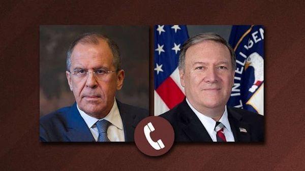 گفتوگوی تلفنی وزرای خارجه روسیه و آمریکا
