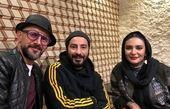 گردش لیندا کیانی و دو بازیگر توانا در باغ کتاب