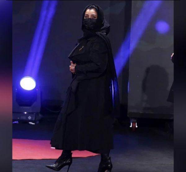 پوشش ساره بیات در جشنواره فجر + عکس