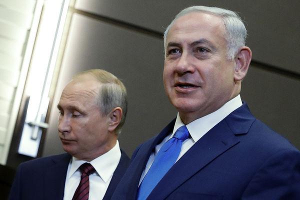 دیدار نخستوزیر رژیم صهیونیستی با رئیسجمهور روسیه
