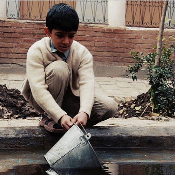علی شادمان در نوجوانی + عکس