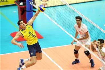 ایران مقابل برزیل شکست خورد