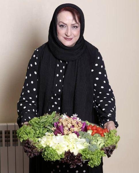 سالاد دستساز مریم امیر جلالی + عکس
