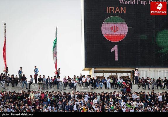عروسکهای غولپیکر در بازی ایران - ازبکستان وارد میشوند