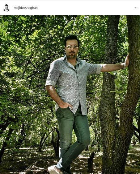 مجید واشقانی در دل جنگل + عکس