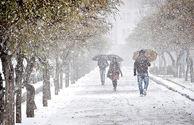 بارش باران و برف در نیمه غربی کشور