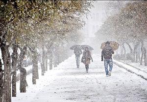 بارش برف و باران در نیمههای شرقی و غربی کشور