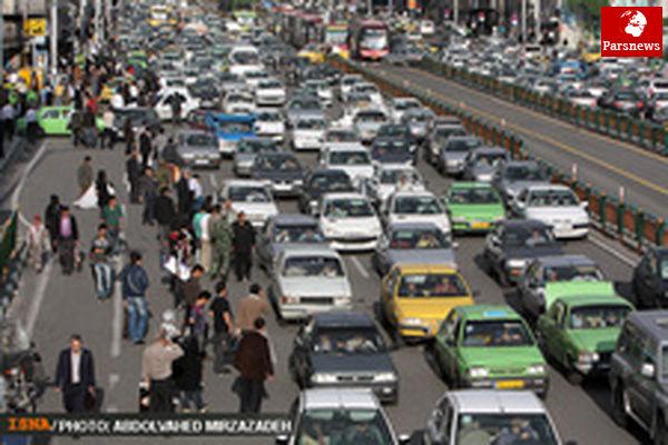 محدودیتهای ترافیکی جادههای کشور در روز طبیعت