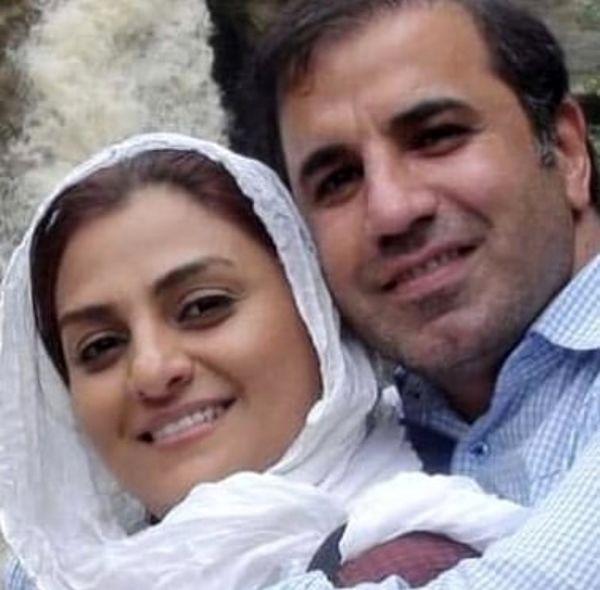 عکسی عاشقانه از مرحوم علی سلیمانی و همسرش