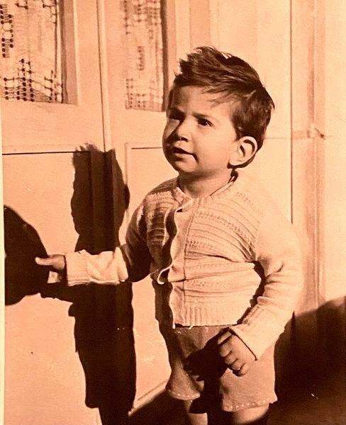 آتیلا پسیانی در سن 3 سالگی + عکس
