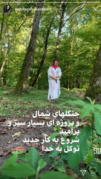 پروژه جنگلی بهنوش بختیاری + عکس