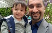 پسر بانمک نیما کرمی در باغ+عکس