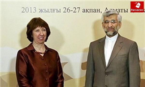 اشتون: مطمئنیم ایران پاسخی فکرشده و متعادل ارائه میدهد