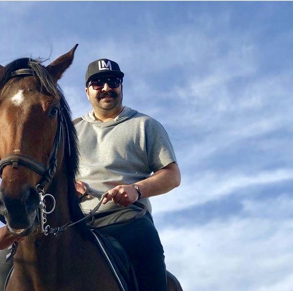 اسب سواری بهنام بانی + عکس