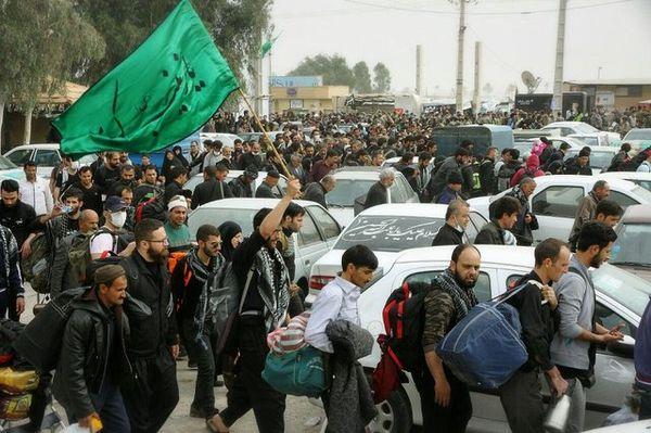 ترافیک سنگین در کمربندیهای مهران و تونل راه کربلا