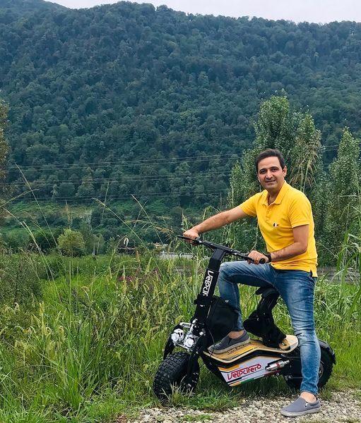 موتور سیکلت خفن سعید شیخ زاده + عکس