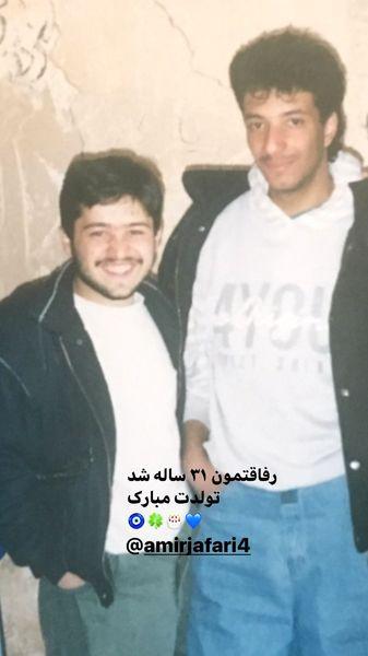 جوانی امیر جعفری و علی صالحی + عکس