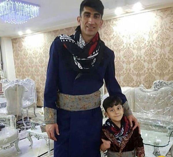 علیرضا بیرانوند و پسر بانمکش در منزل شخصی شان+عکس
