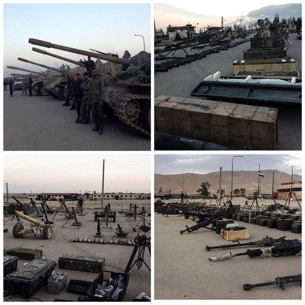 تسلیحات سنگین تروریست های تکفیری در «القلمون شرقی»