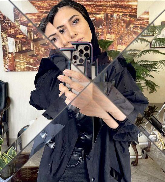 سمیرا حسن پور در میان آینه ها + عکس