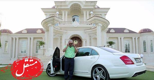 ویلا و ماشین فوق لاکچری رحمان 1400+عکس