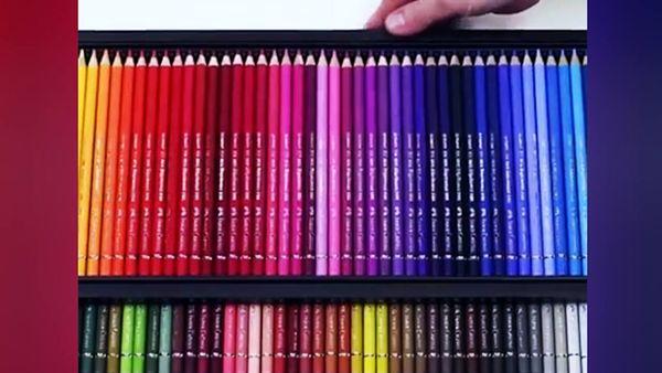 کارخانه تولید مداد رنگی+ فیلم
