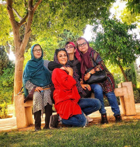 سفر خانوادگی شیوا ابراهیمی به شیراز+عکس
