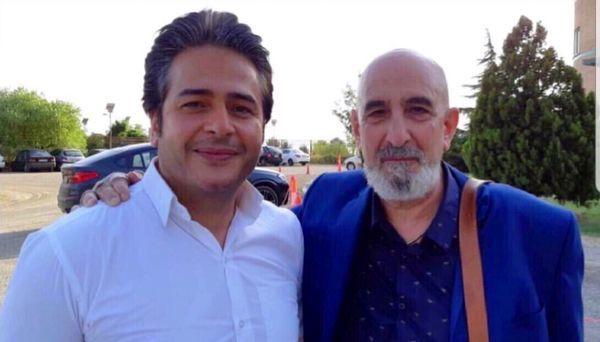 امیر تاجیک در کنار فرهاد آئیش خوش تیپ + عکس